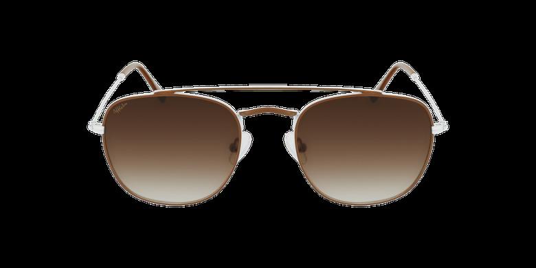 Gafas de sol hombre TOSSA marrón/blanco