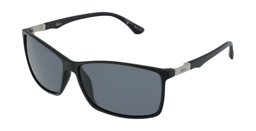 Gafas de sol hombre SHAUN POLARIZED negro - vue de 3/4