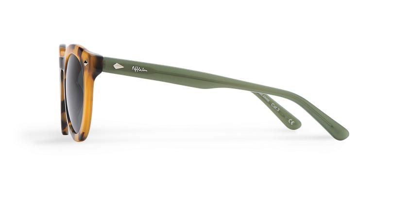 Gafas de sol mujer ANNE carey/verde - vista de lado