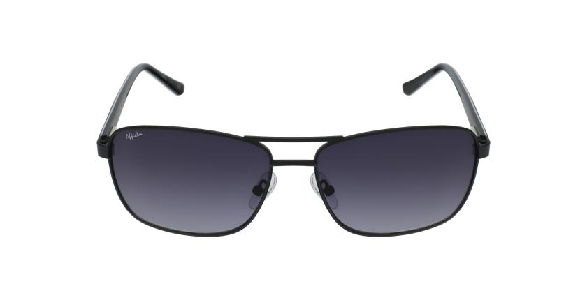 Gafas de sol hombre AMIR negro - vista de frente