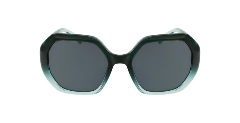 Gafas de sol mujer FAURA verde/negro - vista de frente