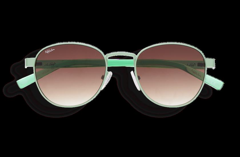 Gafas de sol mujer FRUTTI verde - danio.store.product.image_view_face