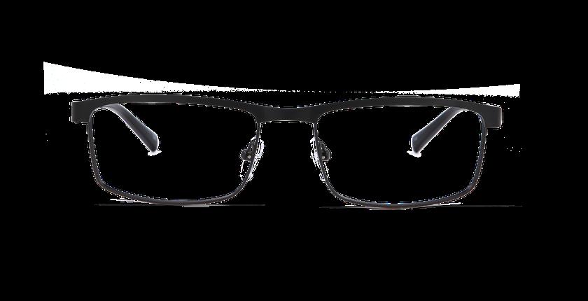 Gafas graduadas hombre WILLIAM negro - vista de frente