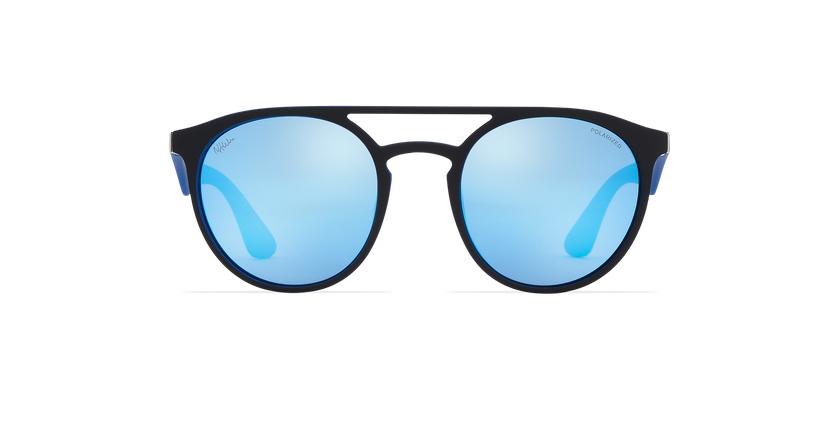 Gafas de sol LIONI POLARIZED negro/morado - vista de frente