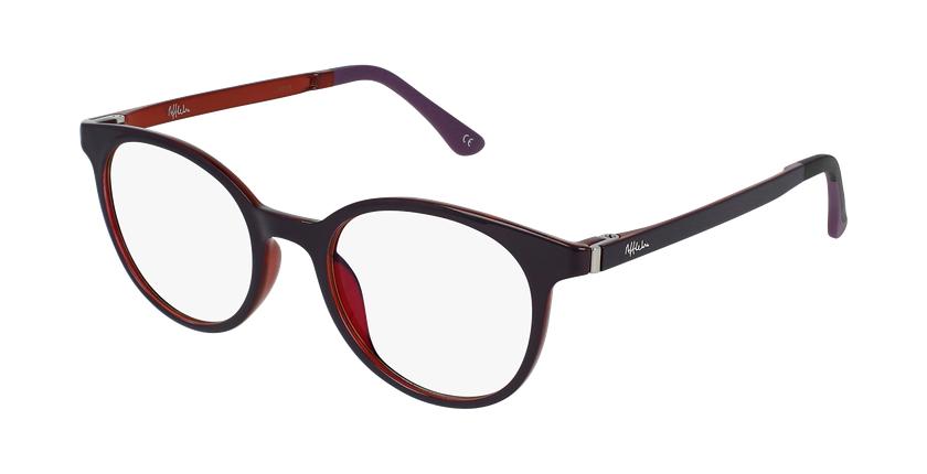 Gafas graduadas mujer MAGIC 36 BLUE BLOCK morado/rosa - vue de 3/4