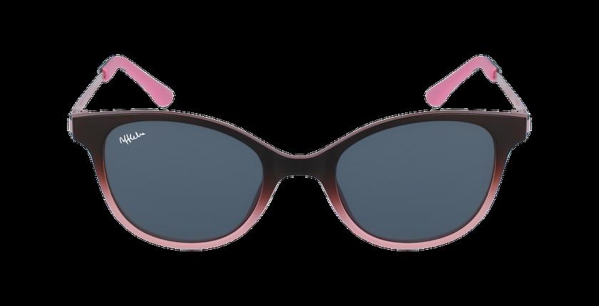 Gafas graduadas niños MAGIC 31 BLUE BLOCK marrón/rosa - vista de frente