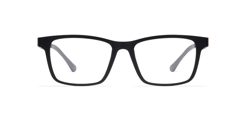 Gafas graduadas hombre MAGIC 01 negro/negro mate - vista de frente