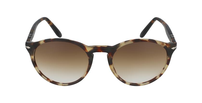 Gafas de sol hombre 0PO3092SM marrón - vista de frente
