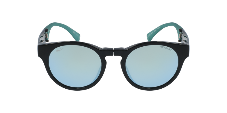 Gafas de sol mujer SLALOM negro/turquesavista de frente