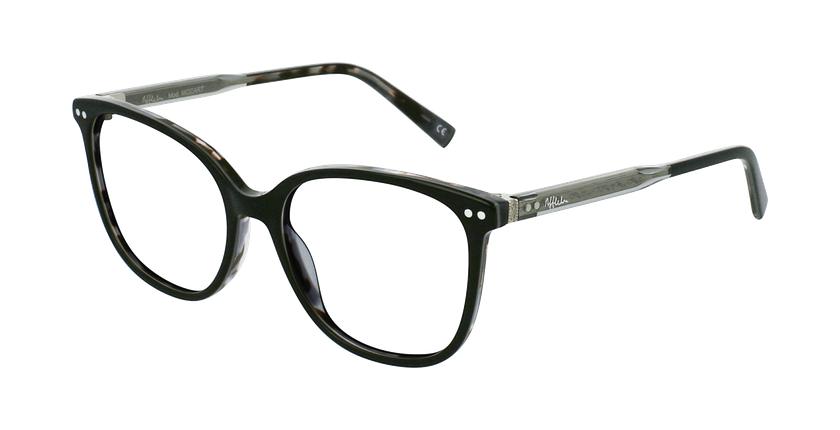 Gafas graduadas mujer MOZART negro - vue de 3/4
