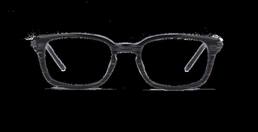Gafas graduadas hombre RODIN negro - vista de frente