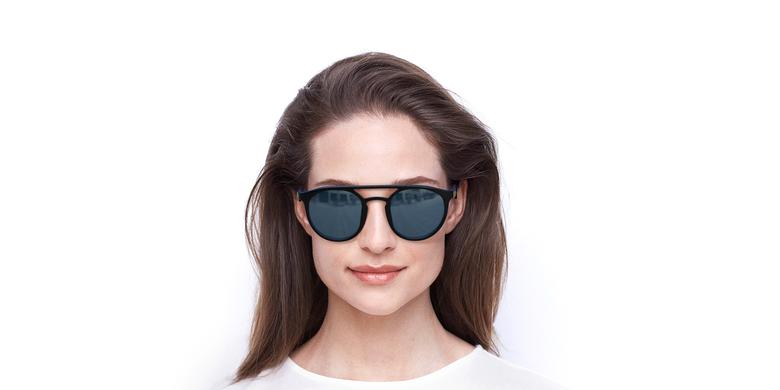 Gafas de sol LIONI POLARIZED negro/morado