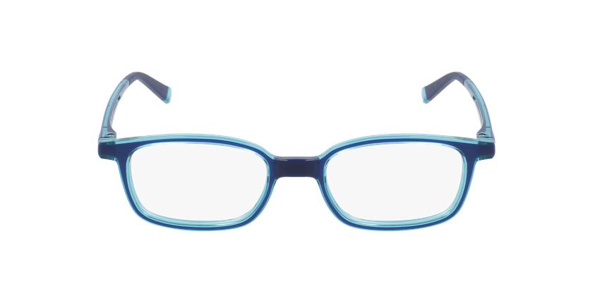 Gafas graduadas niños RFOP1 azul/turquesa - vista de frente