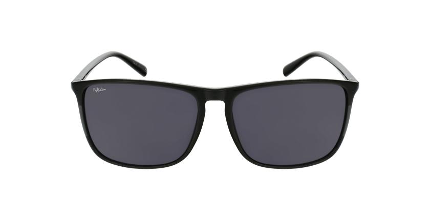Gafas de sol hombre PARDO negro - vista de frente