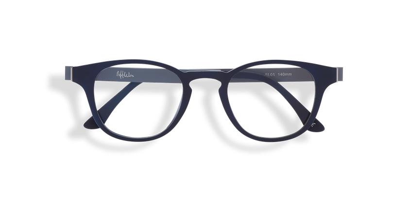 Gafas graduadas hombre MAGIC 03 azul/gris - vista de frente