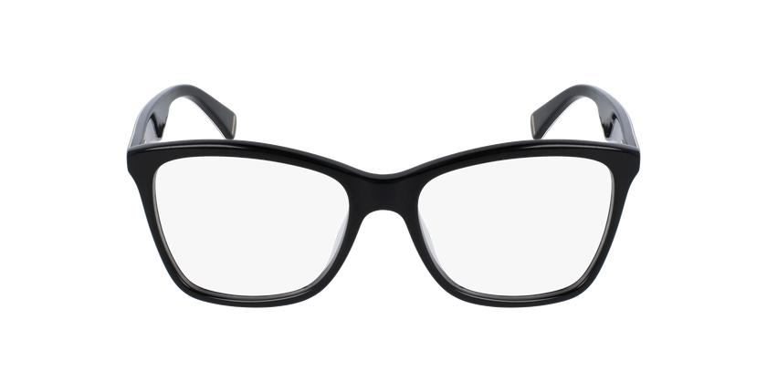 Gafas graduadas mujer VPL415N negro/carey - vista de frente