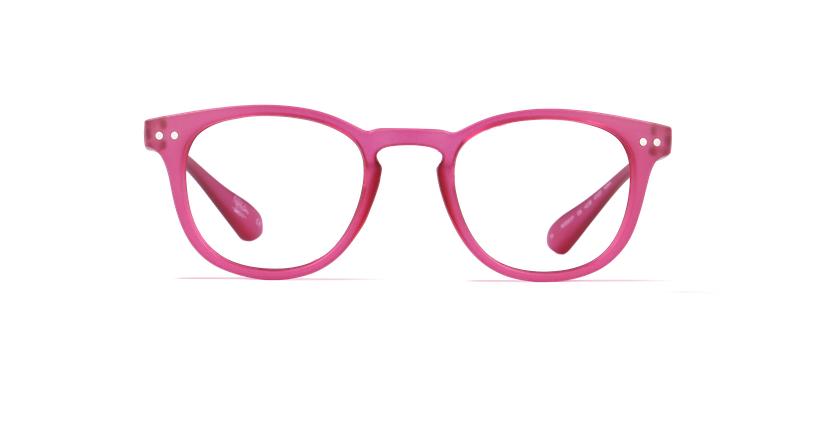 Gafas graduadas BLUE BLOCK UNISEX rosa - vista de frente