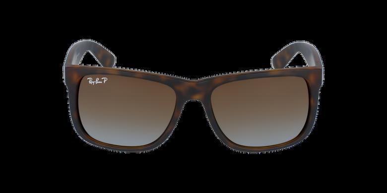 Gafas de sol hombre JUSTIN marrón/marrónvista de frente