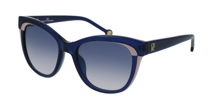 Gafas de sol mujer SHE787 azul - vue de 3/4