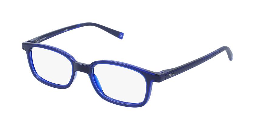 Gafas graduadas niños RFOP1 azul - vue de 3/4