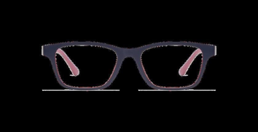 Gafas graduadas hombre MAGIC 02 azul/azul oscuro / burdeos - vista de frente