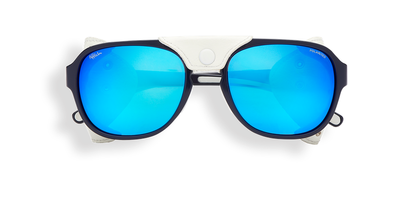 Gafas de sol hombre SCHUSS azul - vista de frente