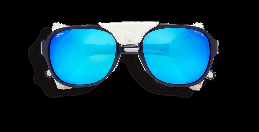 73fbdd5d74 ... Gafas de sol hombre SCHUSS azul - vista de frente ...