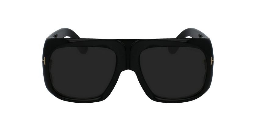 Gafas de sol hombre GINO negro - vista de frente