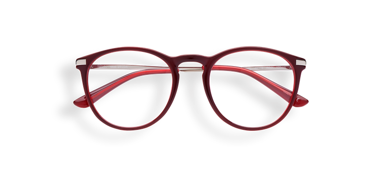 Gafas graduadas mujer ZELDA rojo