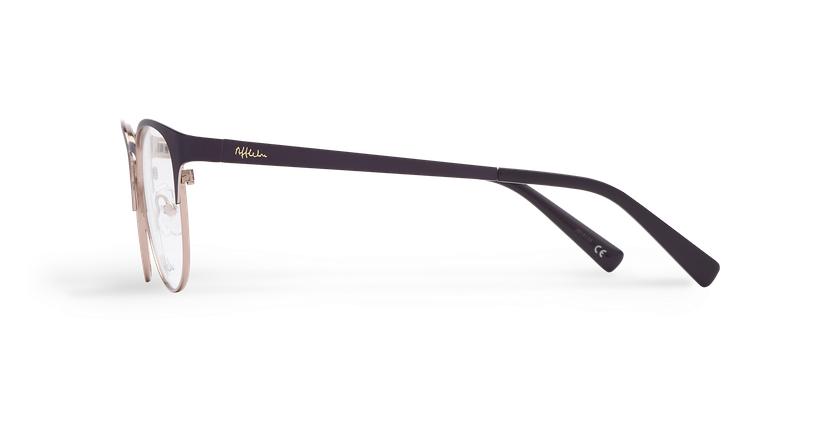 Gafas graduadas mujer FANTINE morado - vista de lado