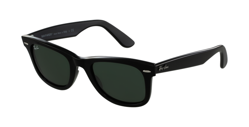 Gafas de sol WAYFARER negro/gris - vue de 3/4