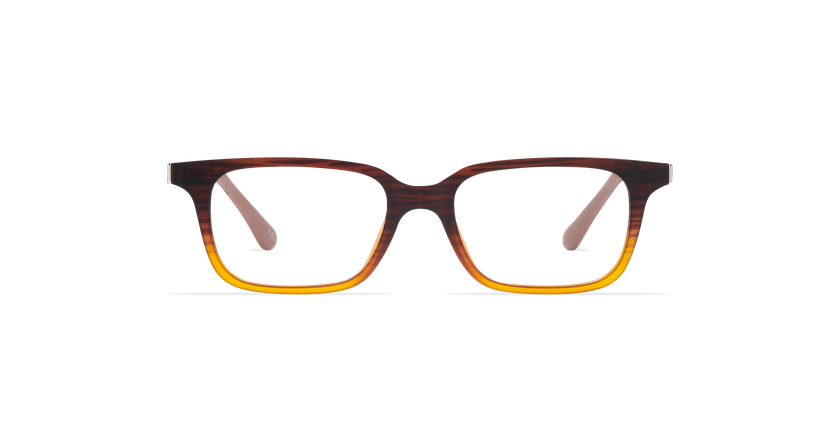 Gafas graduadas niños MAGIC 12 marrón - vista de frente
