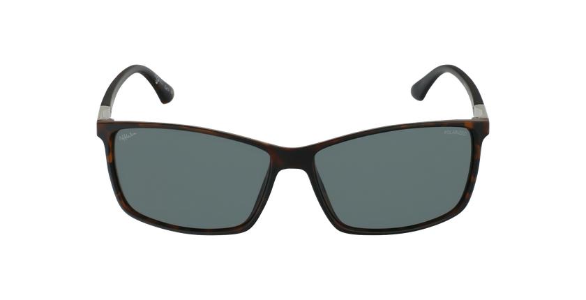 Gafas de sol hombre SHAUN POLARIZED carey - vista de frente