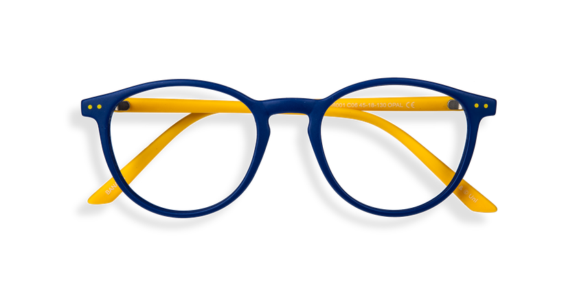Gafas graduadas niños BANANA BLUEBLOCK azul - vista de frente