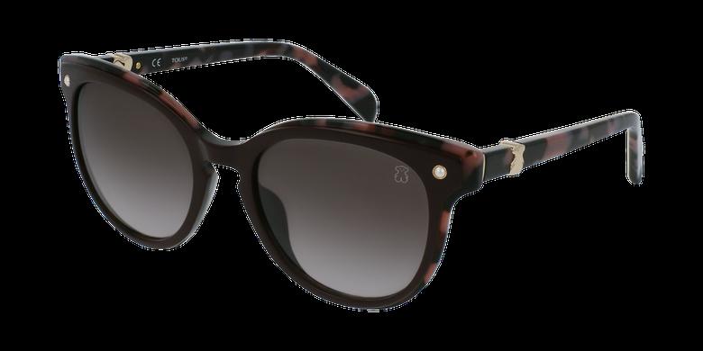 Gafas de sol mujer STOA28S marrón/rojo