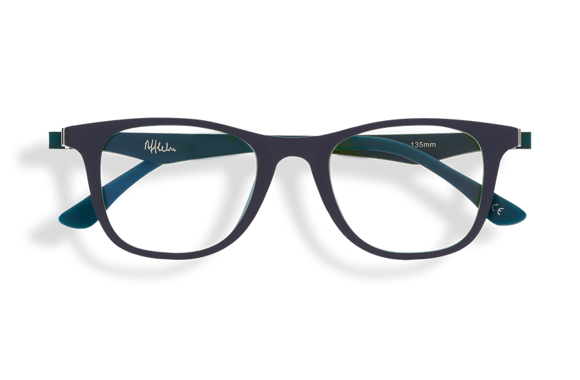 Gafas graduadas niños MAGIC 30 BLUE BLOCK azul/verde - danio.store.product.image_view_face