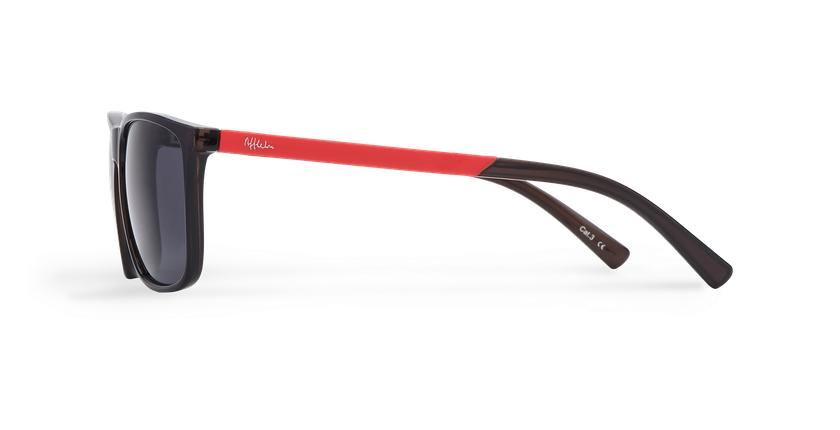 Gafas de sol hombre NATAL gris - vista de lado
