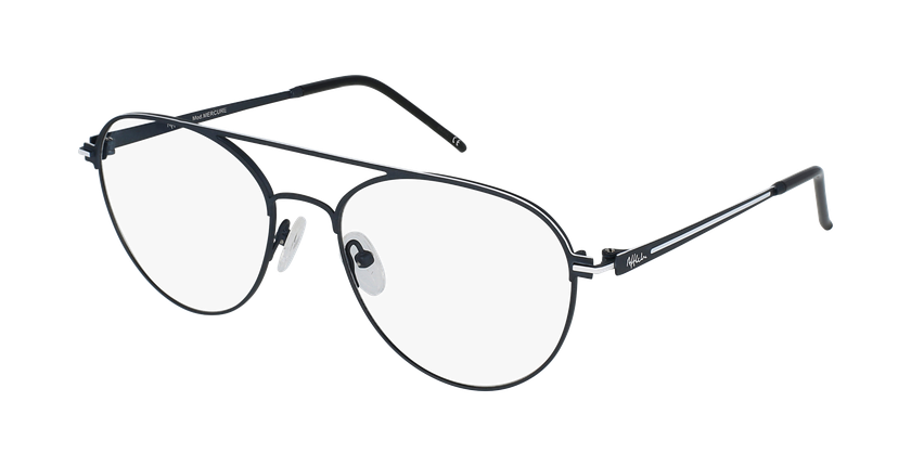 Gafas graduadas hombre MERCURE azul/blanco - vue de 3/4