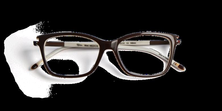 Gafas graduadas mujer MEDICIS marrón/marrón