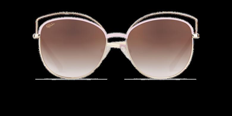 Gafas de sol mujer BETTY rosa/dorado