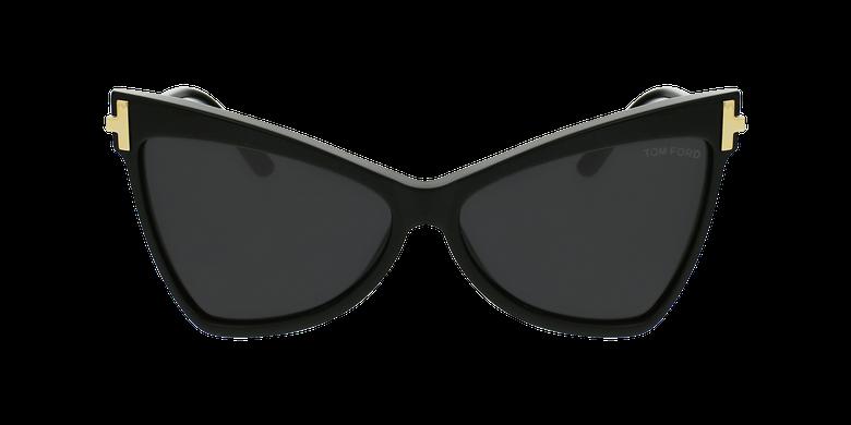 Gafas de sol mujer TALLULAH negrovista de frente