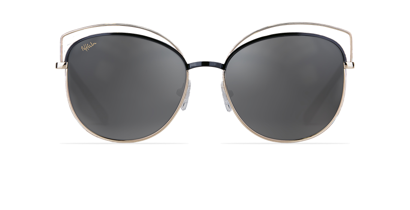 Gafas de sol mujer BETTY negro/dorado - vista de frente