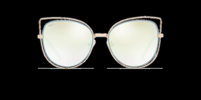 Gafas de sol mujer CHULA dorado/azul