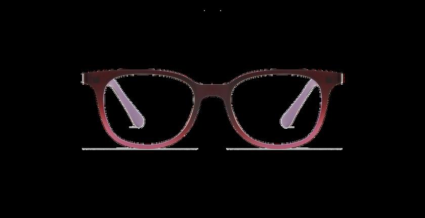 Gafas graduadas niños MAGIC 11 rojo/rojo degradado - vista de frente