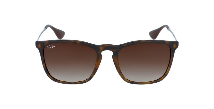 Gafas de sol hombre CHRIS negro/gris - vista de frente