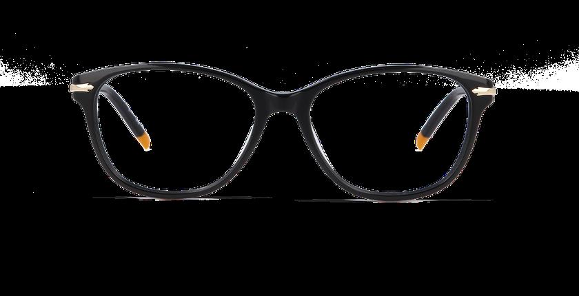 Gafas graduadas mujer CHESTER negro - vista de frente