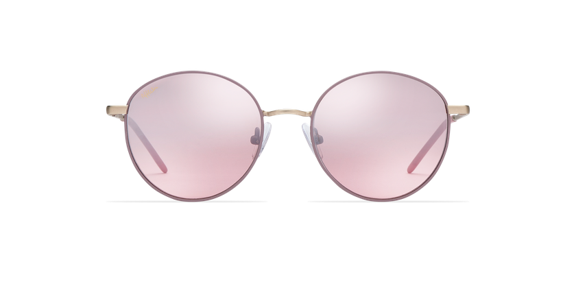 Gafas de sol mujer BEVERLY rosa - vista de frente