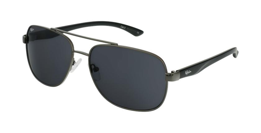 Gafas de sol hombre CRUZ negro/gris - vue de 3/4