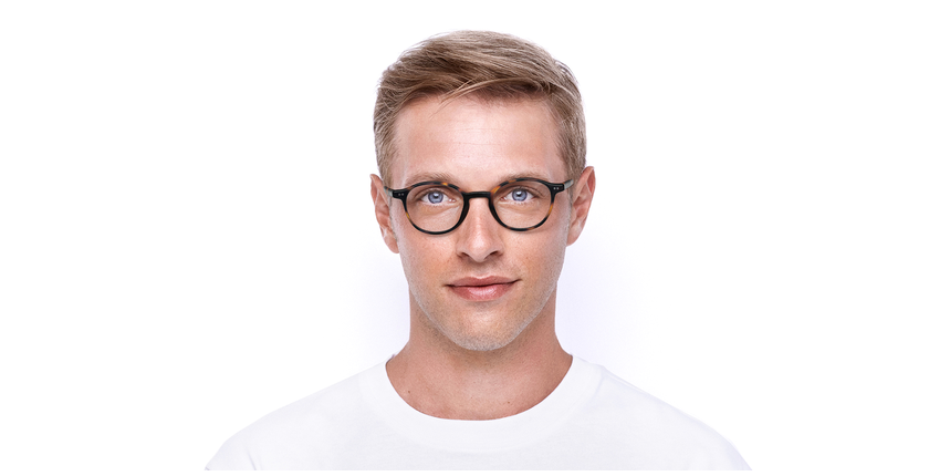 Gafas graduadas hombre RENAN carey - vista de frente