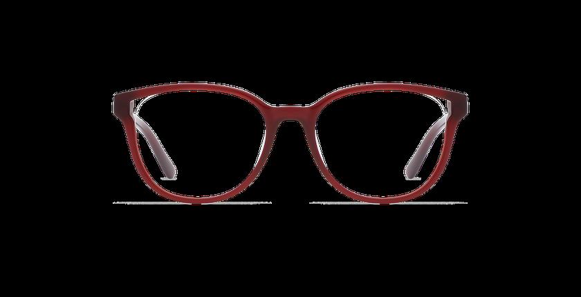 Gafas graduadas mujer GAELLE rojo - vista de frente